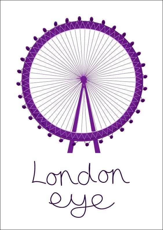 London 2012 London Eye  www.alicehodgson.co.uk