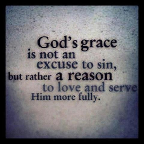 God's Grace does NOT wipe out  sins of your Past.  GOD does and will give you the tools to make good on your mistakes and he expects you to USE them.  Don't make a mockery of God's grace and generosity by twisting His words and trying to make them mean something to serve your perverse reasoning.