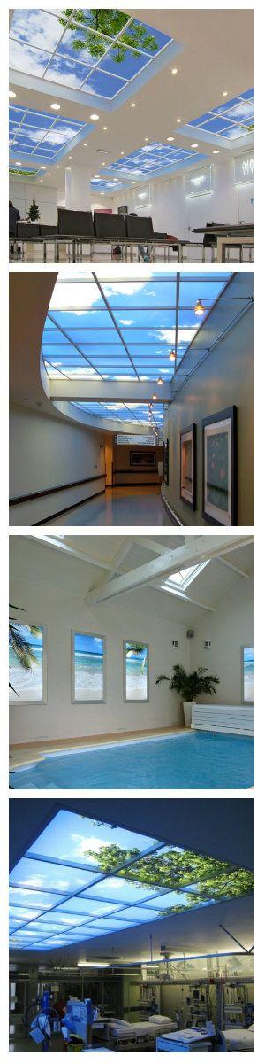 Изменить восприятие окружающего интерьера предложила компания Sky Factory, разработав проект SkyCeilings. По мнению разработчиков, их идея способна существенно повысить настроение дома и работоспособность в офисах. #фальшокно #фальшокносподсветкой #виртуальныеокна #имитацияокна #подсветкаокна #подсветкапотолка #светодиодныйпотолок #светящиесяокна #светящиесяпотолки #светящиесястены #светящийсяпотолок #подсветка #светодиоднаяподсветка #светодиоднаялента