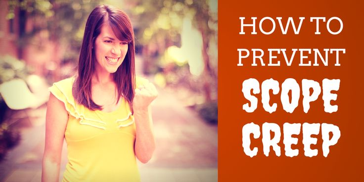 How to Prevent Scope Creep #ProjectManagement
