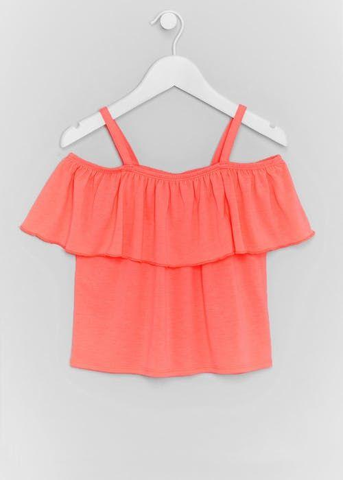 0c86d50f5f42 Girls Short   Long Sleeved Tops