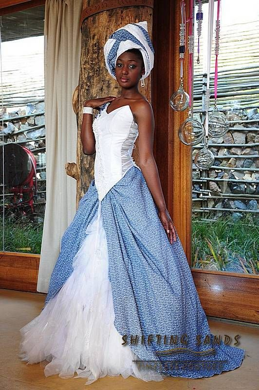 Traditional African Bridal Wear Shifting Sands Design Each Dress Individually To Incorporate The Culture And Requirements
