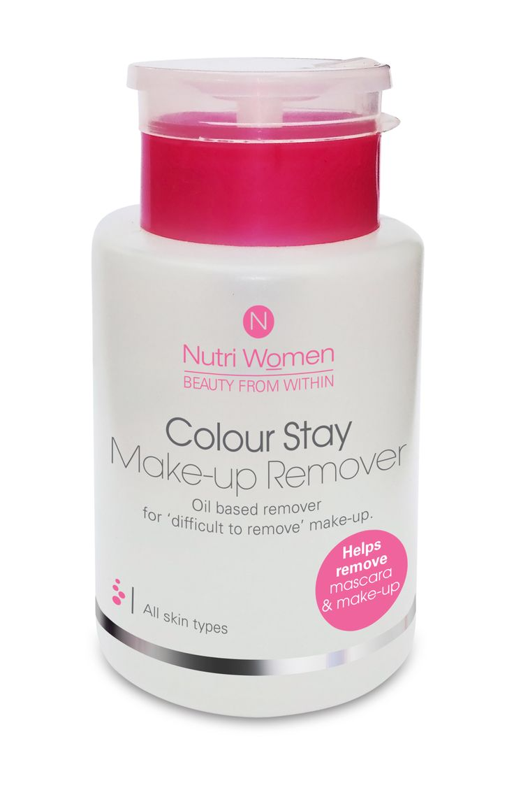Colour stay make up remover for stubborn make up.
