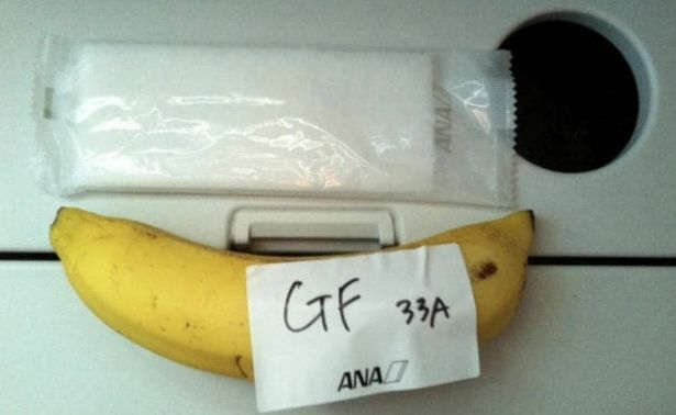 Man's gluten free airline meal request met with a single banana