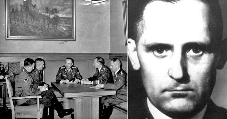 "A veil of mystery follows the name ""Heinrich Muller"" since his disappearance in 1945, after the fall of Berlin. Mueller was the head of Gestapo secret poli"