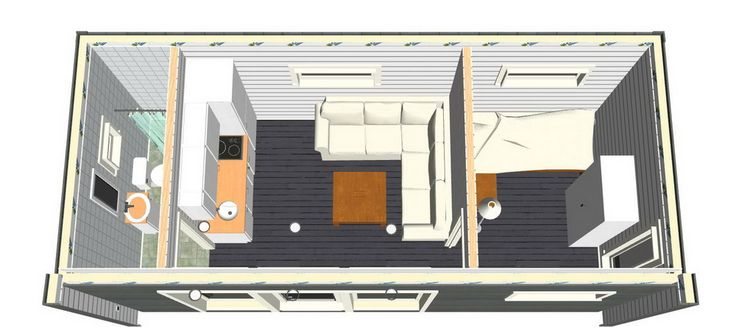 Enkelrum E25 är ett smart och välbyggt attefallshus på 25 kvm som passar dig som gillar god design, fina detaljer och hållbara material.