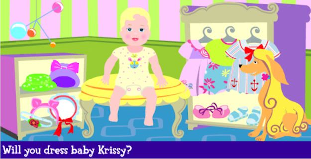Barbie: Let's Babysit Baby Krissy | 15 Online Games From Your Childhood That You Can Still Play