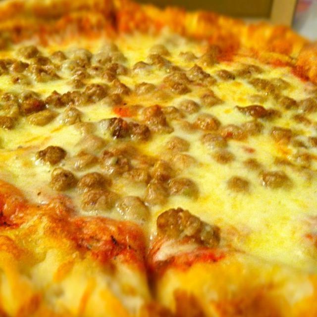 レシピとお料理がひらめくSnapDish - 67件のもぐもぐ - Sausage pizza / ソーセージピザ by Juliee ~ ジュリー
