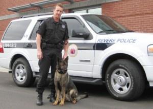K9 Officer Mason and Walsh