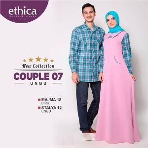 Baju Sarimbit ETHICA COUPLE 07 UNGU