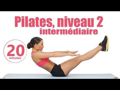 Pilates niveau 2 intermédiaire - Cours de Fitness complet - YouTube