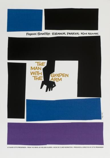 """""""The Man with the Golden Arm"""" (Otto Preminger, 1955)"""