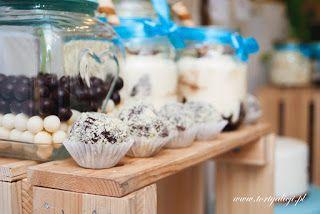 Zaczarowany Swiat Tortów: Candy Bar lub jak kto woli Słodki Stół