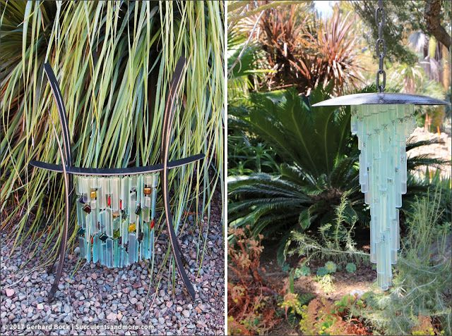 Artist: Michael Larson Succulents and More: 2017 Sculpture in the Garden at the Ruth Bancroft Garden