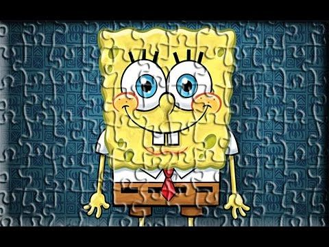 Sponge Bob New Style Super Puzzle Games For Kids - YouTube