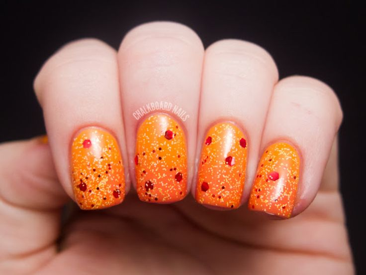 DIY Nail Art: Surface Of The Sun-Inspired Manicure