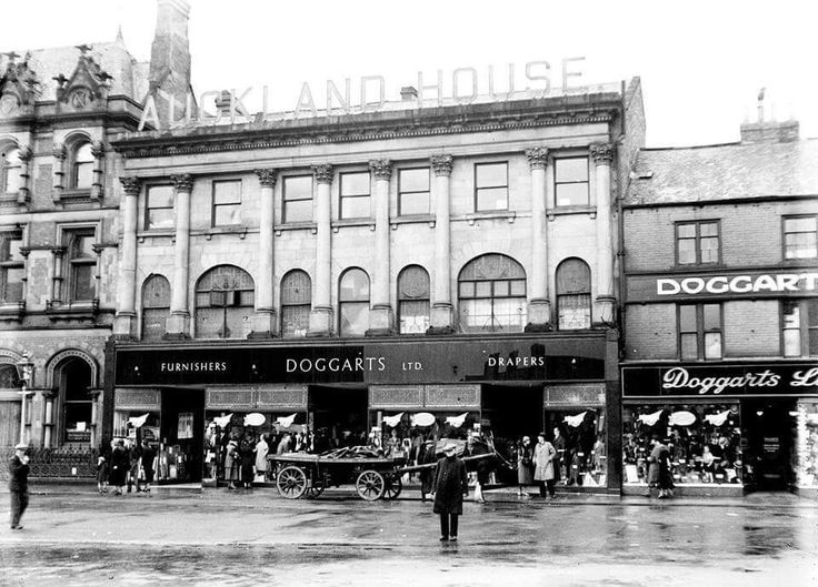 Doggarts were a chain of department stores based in the North East of England, with their base being in Bishop Auckland.