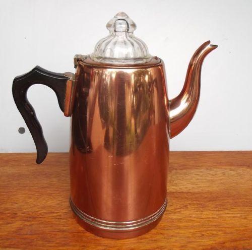Antique Percolator Coffee Maker : Guildford copper ware coffee percolator VINTAGE COFFEE MAKERS Pin?