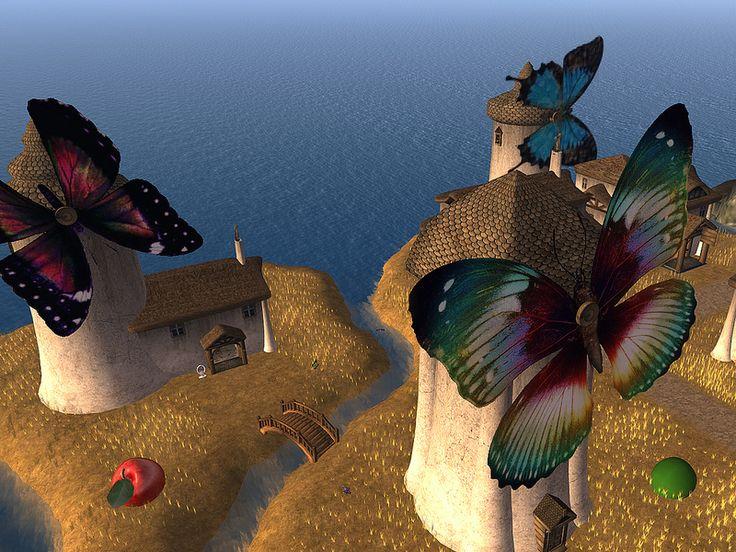 Rainbow Windmills