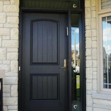 Solid Door With Sidelight And Above Light Dont Like The