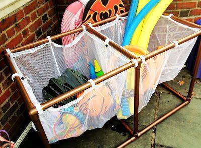 DYI Pool Organizer   www.imamartha.com