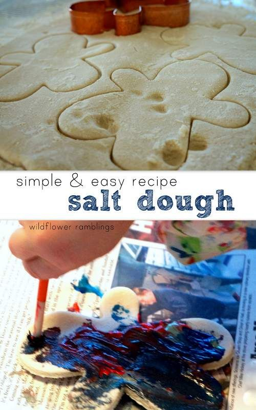 The best salt dough recipe is simple, easy, and will create a wonderful keepsake for you and your child!