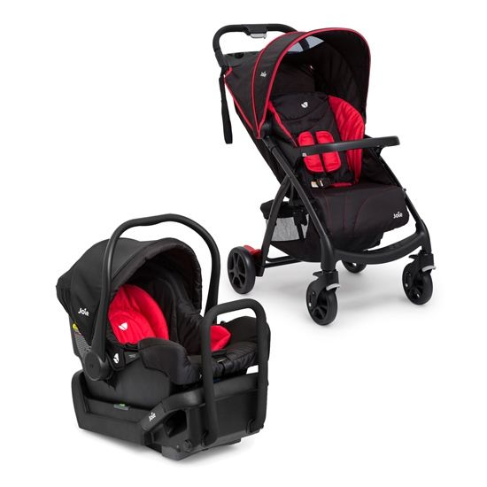 The Joie Muze Stroller+Gemm Capsule Combo , Pram & Car Seat Travel Systems