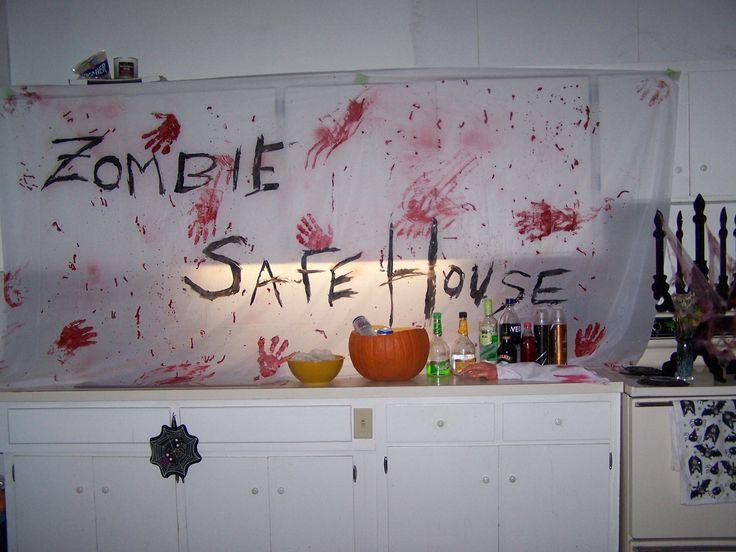 Amazing Zombie Halloween Banner