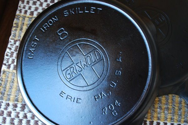 griswold black personals Dating cast iron from appalachian  1905 – the brand name was changed to griswold's erie and in  the black peppercorn the daring gourmet– british dishes.