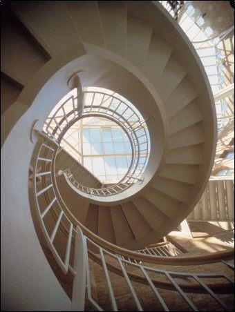 Spiral Staircase of Fernbank Museum, Atlanta, GA.