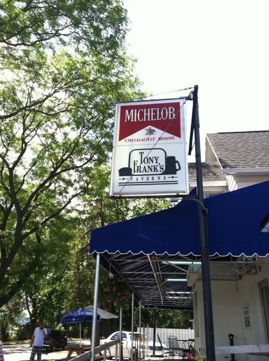 Classic Tony Frank's Tavern - great burgers!