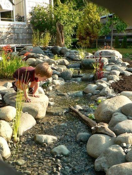 Would love a little stream in my backyard