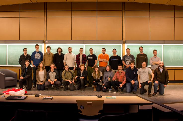 The UVic Rocketry Club. Photo provided