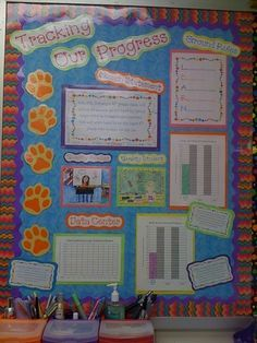 Data bulletin board for classroom by jordan