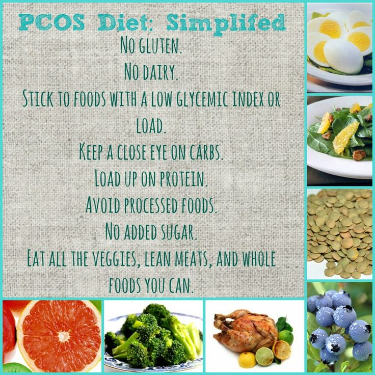 My PCOS Diet-I didn't know there was a special diet for PCOS. Good to know.