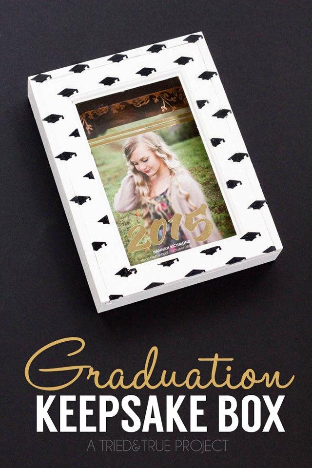 DIY Graduation Gift Ideas Keepsake Box