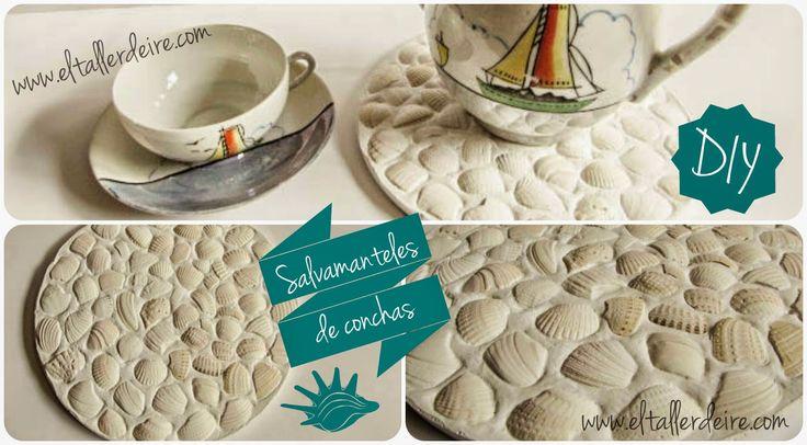 DIY: Salvamanteles de conchas
