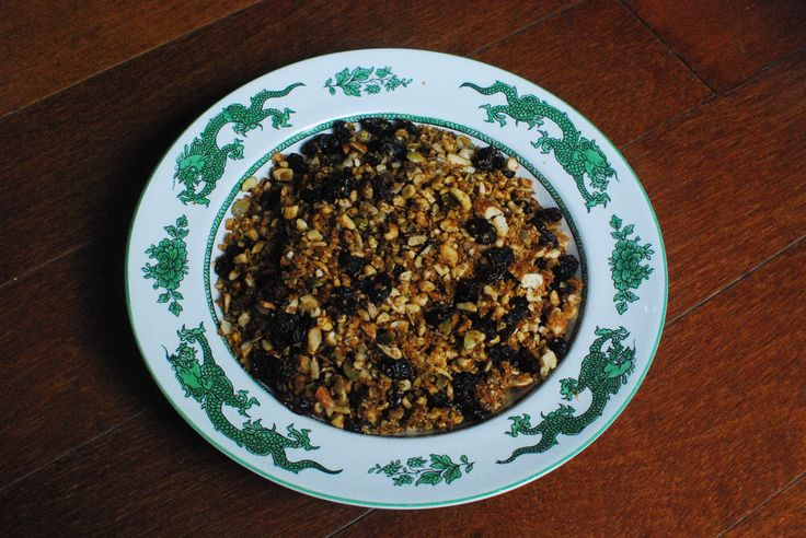 Paleo granola ready to eat!
