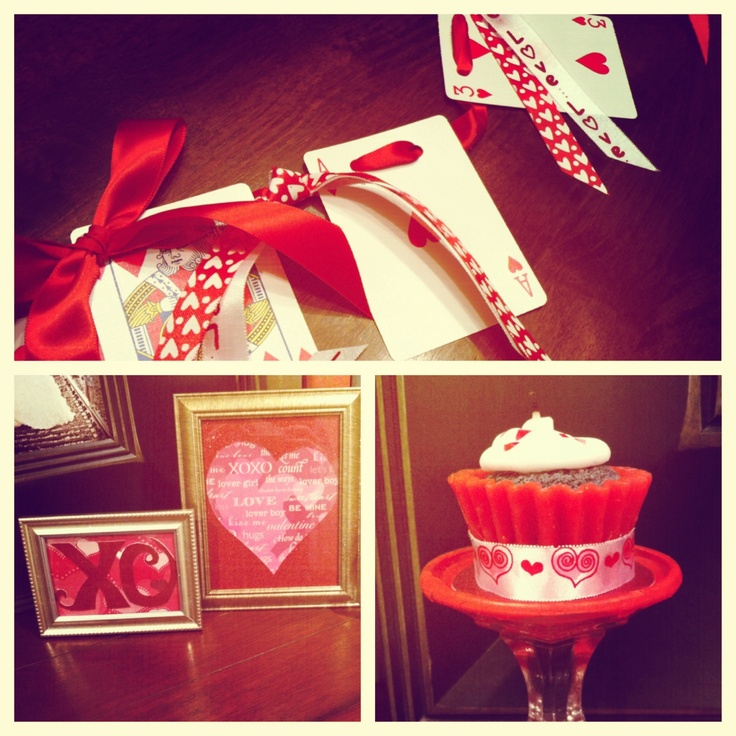 Valentines Deco---Home made by ME! <3 XO