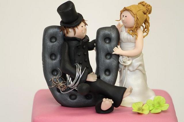 Brautpaar Schornsteinfeger Hufeisen by suess-und-salzig, via Flickr