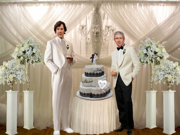Johnlock Fan Fiction: The Wedding Album