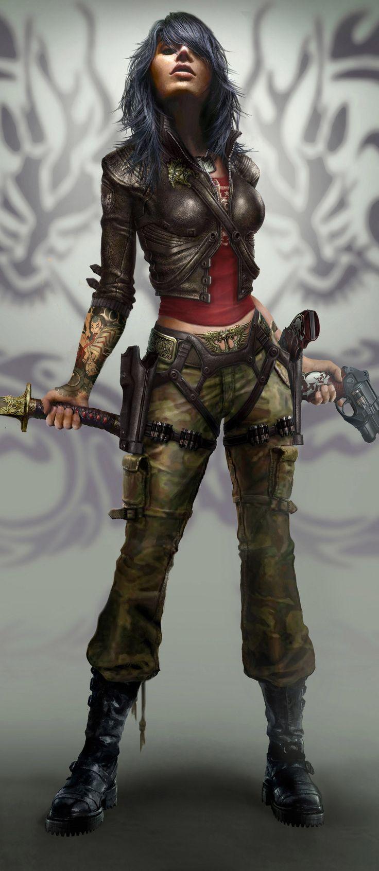 Rubi Malone - game art