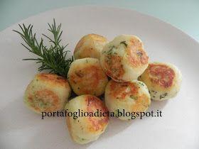 cucina dietetica per il portafoglio: Polpettine di patate e ricotta