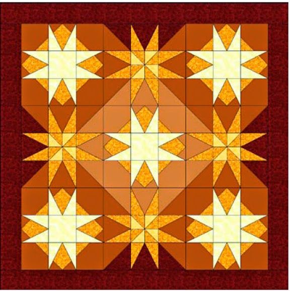 Civil War Quilts: Threads of Memory 10: Britain's Star for Charlotte Henson