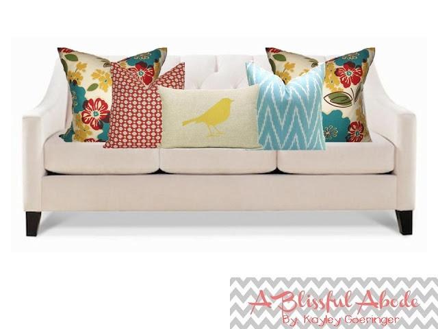 Pillow arrangement tips