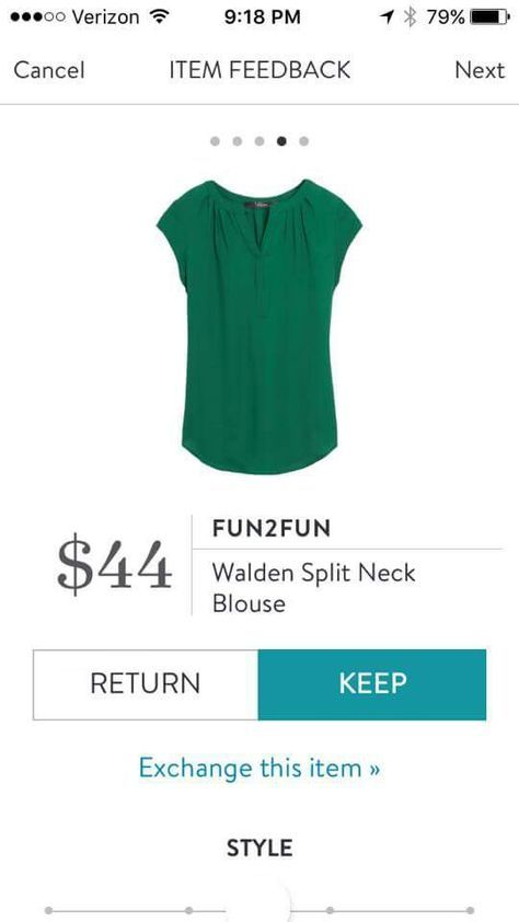 SPRING & SUMMER FASHION TRENDS 2017! Ask your Stitch Fix stylist to send you items like this.emerald green top #StitchFix #sponsored