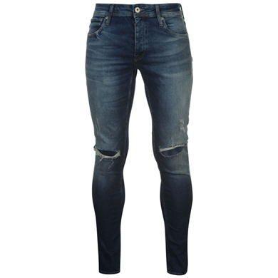 Jack and Jones JI Glenn Rip Slim Jeans - USC
