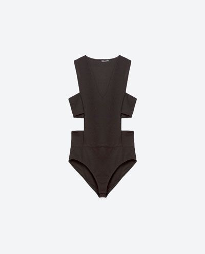 Image 6 of CUT OUT BODYSUIT from Zara
