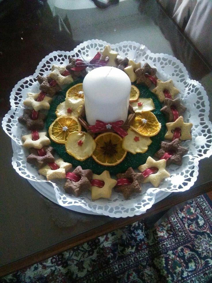 Centrotavola per le feste   Centrotavola