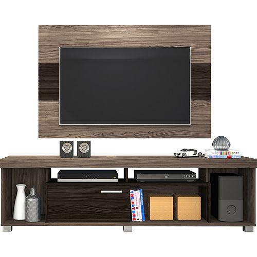 """[grigas.com] Rack Painel AT.Home MDF/MDP TV até 50"""" R$ 219 - 10% boleto - 10% cupom"""